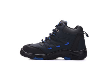China Action Nubuck Leather Military Safety Boots Sport Design With Rubber Outsole supplier