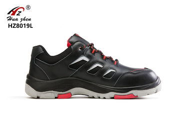 China Industrial Leather Industrial Safety Shoes Slip Resistant For Construction supplier