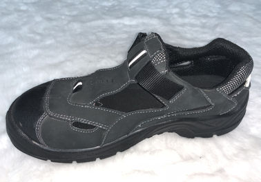 China Summer Lightweight Sandal Safety Shoes Grey Low Cut Work Shoes For Industry supplier