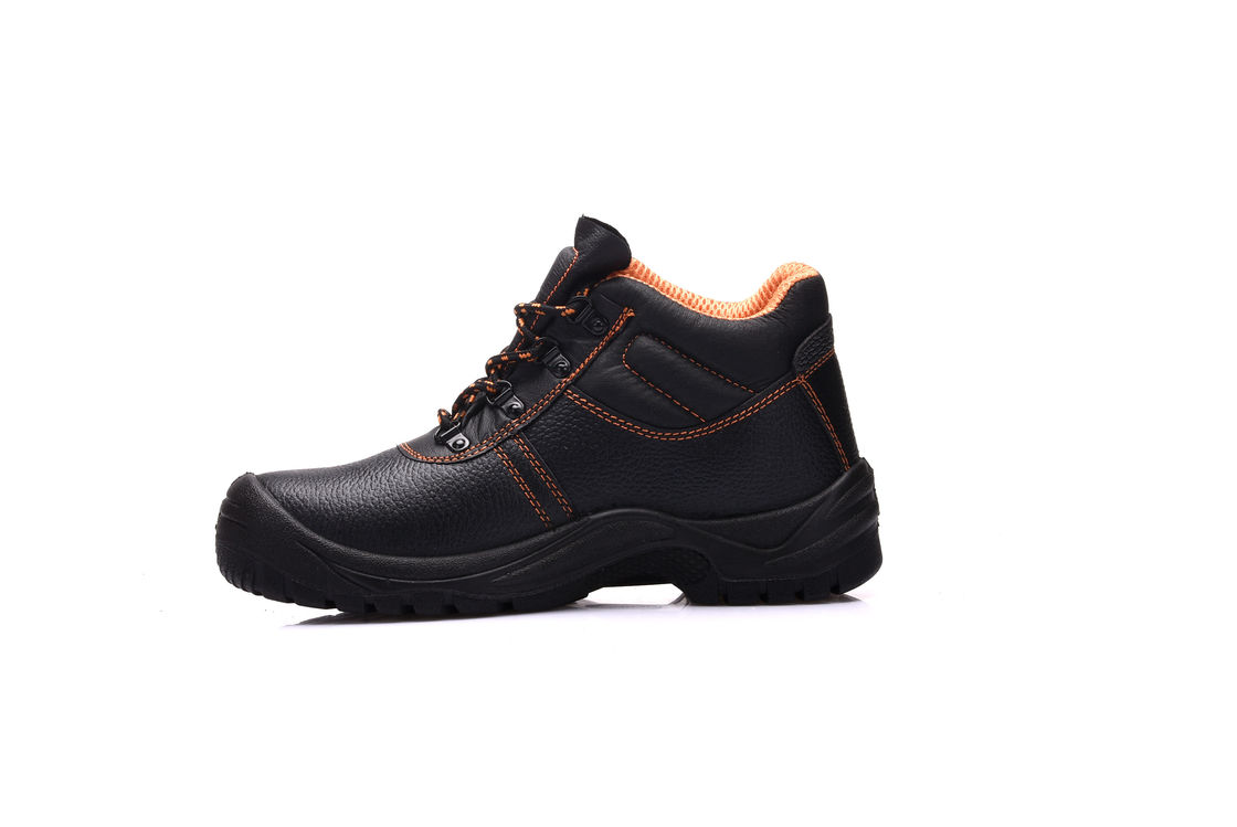7c9adcc4b72 Lace Up Black Military Safety Boots Low Cut Ankle Protective Work Boots