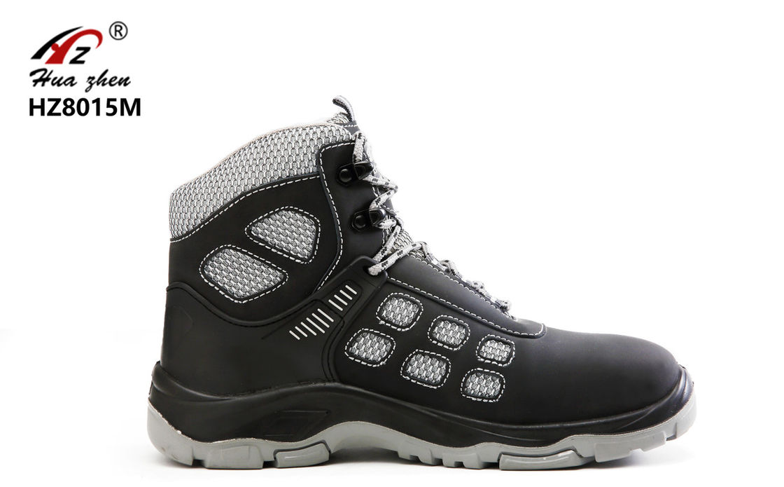 6bf9f0904fa Sport Design Lightweight Steel Toe Shoes , PU / Rubber Steel Safety ...