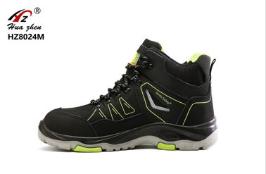 China Middle Cut Sport Style Safety Shoes Comfortable Alkali Resistant For Labor distributor