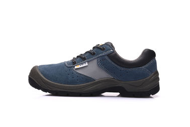 China Alkali Resistant Leather Safety Shoes Steel Industry Protective For Working factory