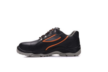 China PU Outsole Low Cut Water Resistant Work Shoes With Joule Toe Cap Protection distributor