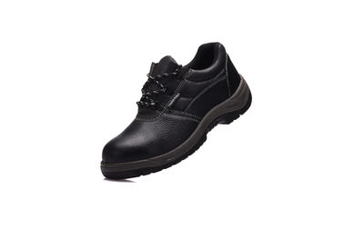 China Low Cut Trainer Safety Shoes Heat Resistant With Embossed Cow Leather Upper distributor