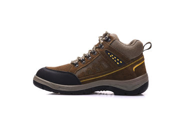 China Anti Slip Sport Style Safety Shoes Brown Euro 36-47# With Protective Toe distributor