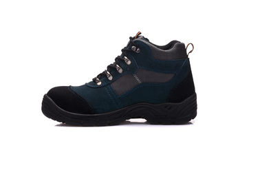 China Double Density Leather PU Sole Safety Shoes Casual Ankle Boots For Military distributor