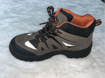 China Non Slip Men 	PU Sole Safety Shoes Smash Resistant For Winter Construction factory