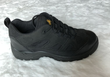 China Genuine Leather Waterproof Work Safety Shoes For Antistatic Safety Jogger distributor